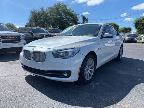 2014 BMW 5 Series for sale at Bargain Auto Sales in West Palm Beach FL