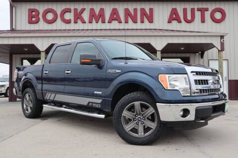 2014 Ford F-150 for sale at Bockmann Auto Sales in St. Paul NE