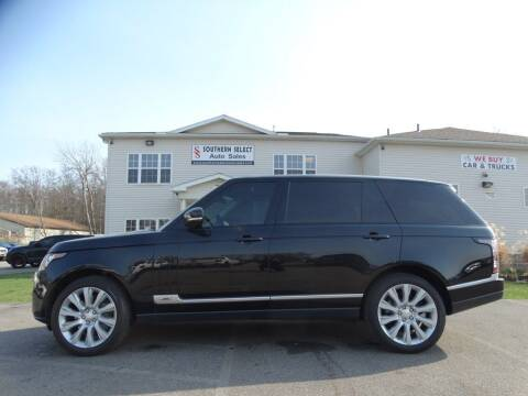 2014 Land Rover Range Rover for sale at SOUTHERN SELECT AUTO SALES in Medina OH