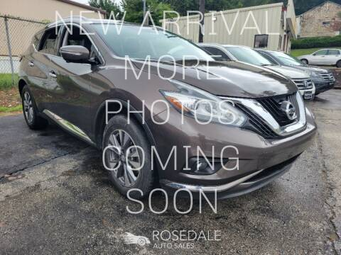 2015 Nissan Murano for sale at Rosedale Auto Sales Incorporated in Kansas City KS