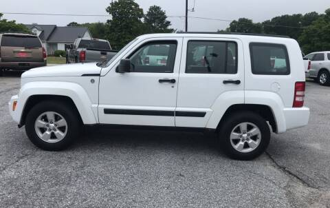 2012 Jeep Liberty for sale at TAVERN MOTORS in Laurens SC