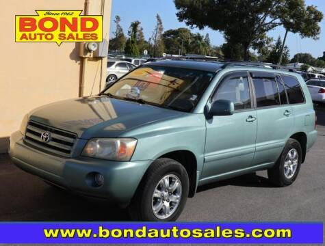 2006 Toyota Highlander for sale at Bond Auto Sales in St Petersburg FL
