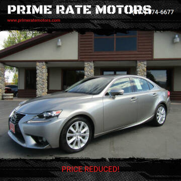 2014 Lexus IS 250 for sale at PRIME RATE MOTORS in Sheridan WY