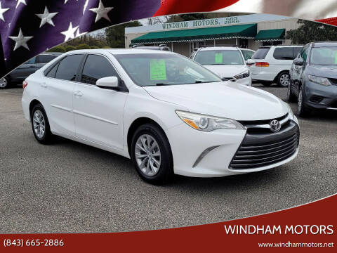2015 Toyota Camry for sale at Windham Motors in Florence SC