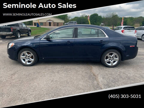 2009 Chevrolet Malibu for sale at Seminole Auto Sales in Seminole OK