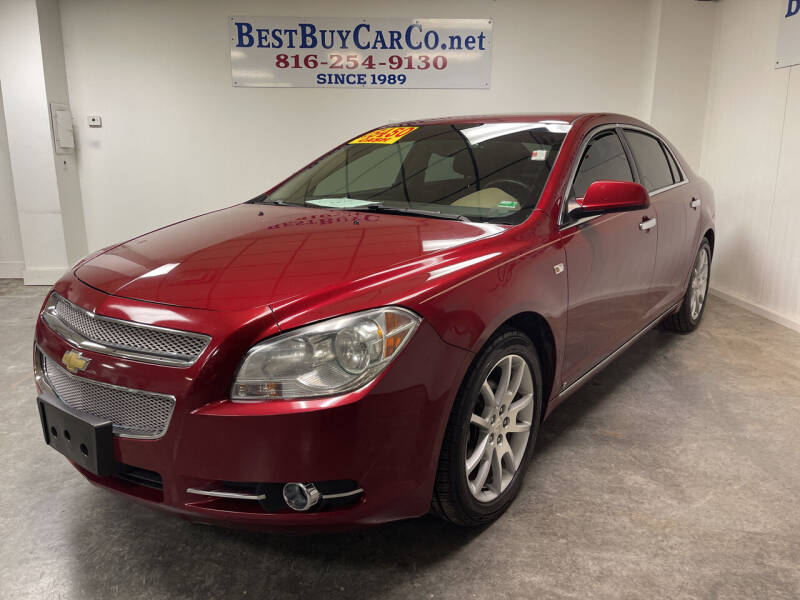 2008 Chevrolet Malibu for sale at Best Buy Car Co in Independence MO