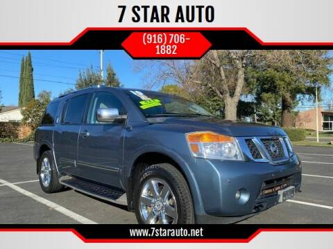 2010 Nissan Armada for sale at 7 STAR AUTO in Sacramento CA