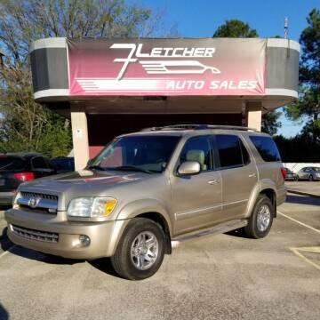 2006 Toyota Sequoia for sale at Fletcher Auto Sales in Augusta GA