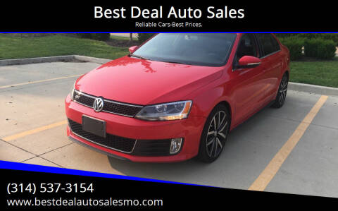 2013 Volkswagen Jetta for sale at Best Deal Auto Sales in Saint Charles MO