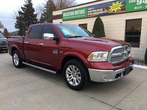 2013 RAM Ram Pickup 1500 for sale at MILESTONE MOTORS in Chesterfield MI