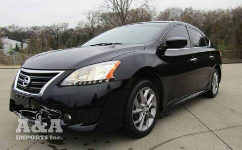 2013 Nissan Sentra for sale at A & A IMPORTS OF TN in Madison TN