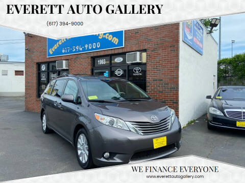 2011 Toyota Sienna for sale at Everett Auto Gallery in Everett MA