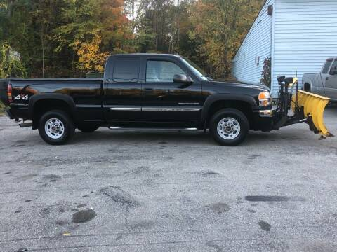 2005 GMC Sierra 2500HD for sale at Top Line Motorsports in Derry NH