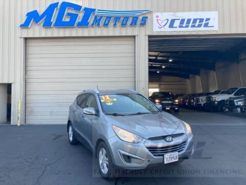 2012 Hyundai Tucson for sale at MGI Motors in Sacramento CA