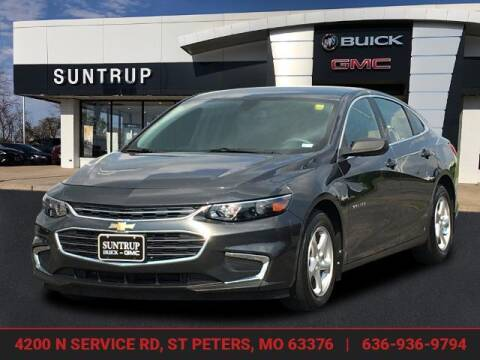 2018 Chevrolet Malibu for sale at SUNTRUP BUICK GMC in Saint Peters MO