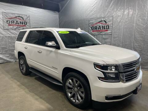 2016 Chevrolet Tahoe for sale at GRAND AUTO SALES in Grand Island NE