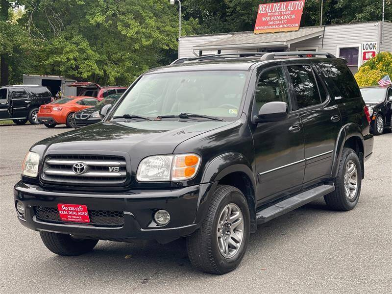 2003 Toyota Sequoia for sale at Real Deal Auto in King George VA