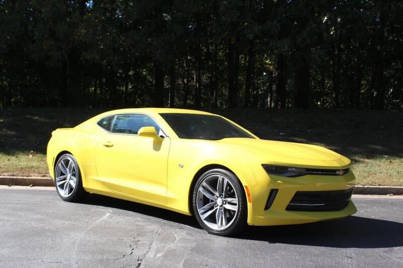 2018 Chevrolet Camaro for sale at El Patron Trucks in Norcross GA