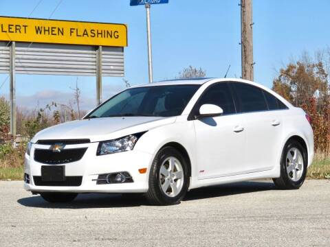 2014 Chevrolet Cruze for sale at Tonys Pre Owned Auto Sales in Kokomo IN