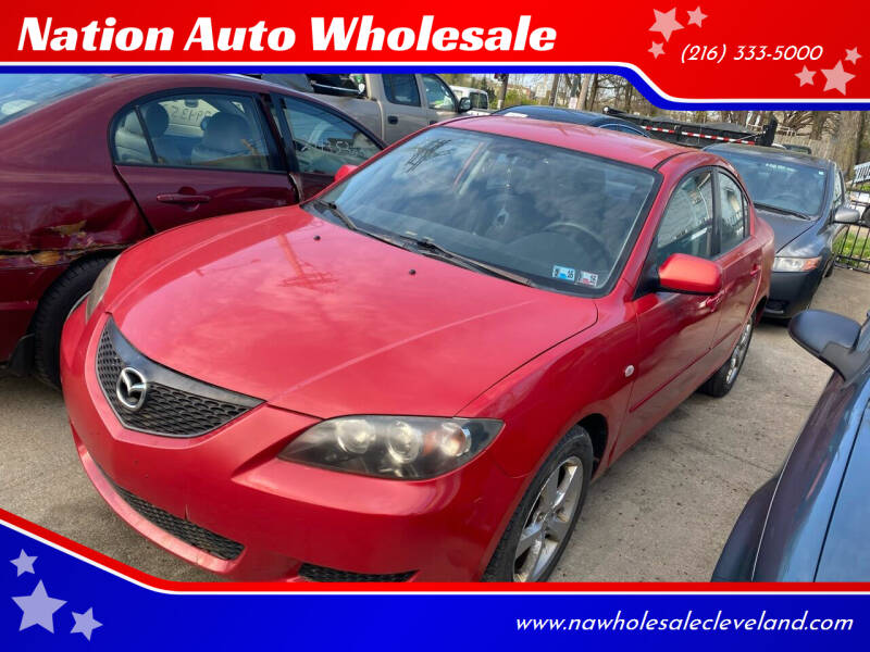 2004 Mazda MAZDA3 for sale at Nation Auto Wholesale in Cleveland OH