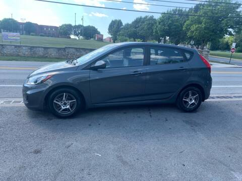 2012 Hyundai Accent for sale at GET N GO USED AUTO & REPAIR LLC in Martinsburg WV