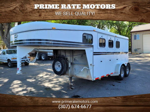2008 Jackson 14' Goose Neck 3 Horse Stk/Com for sale at PRIME RATE MOTORS in Sheridan WY