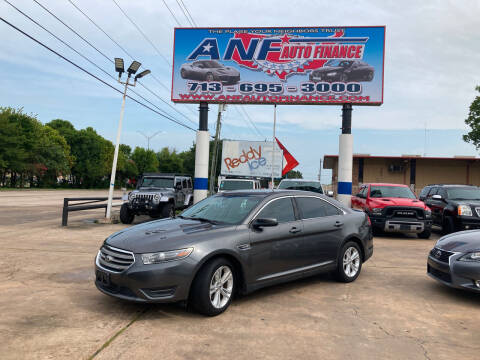2015 Ford Taurus for sale at ANF AUTO FINANCE in Houston TX