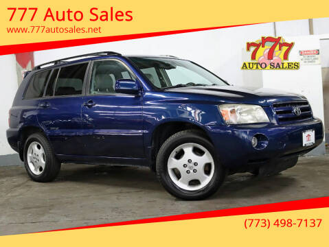 2006 Toyota Highlander for sale at 777 Auto Sales in Bedford Park IL
