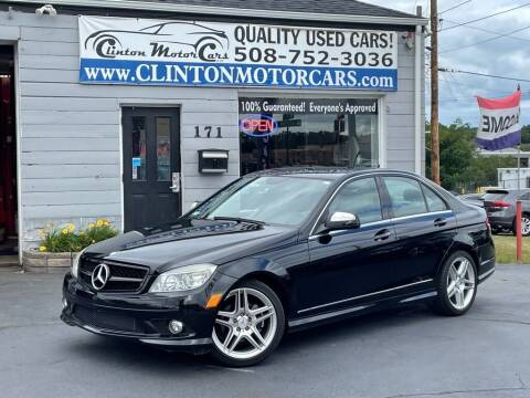 2008 Mercedes-Benz C-Class for sale at Clinton MotorCars in Shrewsbury MA