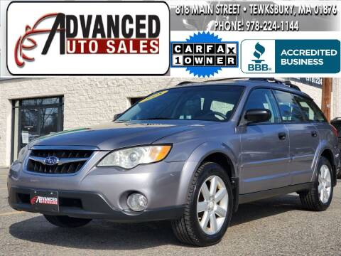 2008 Subaru Outback for sale at Advanced Auto Sales in Tewksbury MA