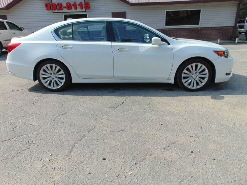 2014 Acura RLX for sale at Evans Motors Inc in Little Rock AR