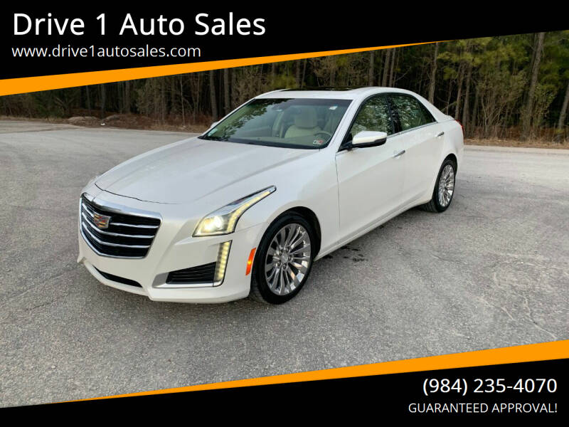 2015 Cadillac CTS for sale at Drive 1 Auto Sales in Wake Forest NC