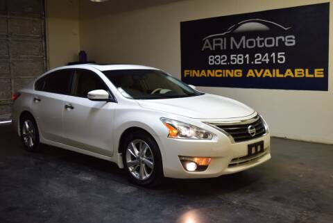 2013 Nissan Altima for sale at ARI Motors in Houston TX