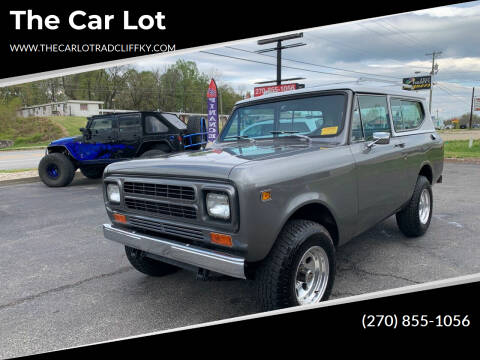 1980 International Scout for sale at The Car Lot in Radcliff KY