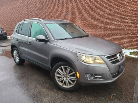 2011 Volkswagen Tiguan for sale at Minnesota Auto Sales in Golden Valley MN