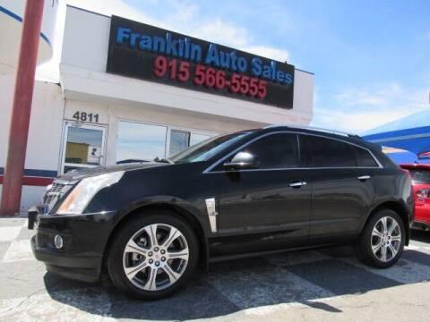 2012 Cadillac SRX for sale at Franklin Auto Sales in El Paso TX