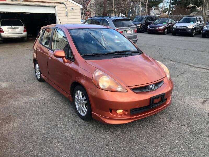 2008 Honda Fit for sale at HZ Motors LLC in Saugus MA