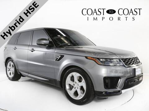 2020 Land Rover Range Rover Sport for sale at Coast to Coast Imports in Fishers IN