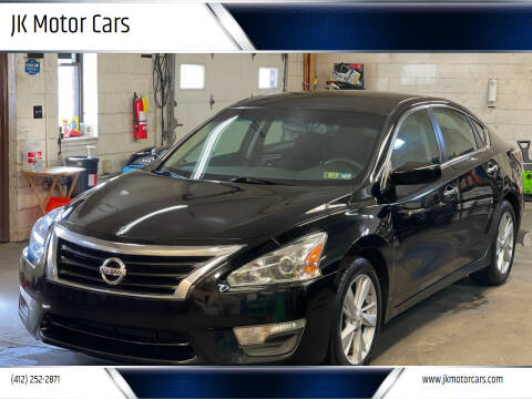2014 Nissan Altima for sale at JK Motor Cars in Pittsburgh PA