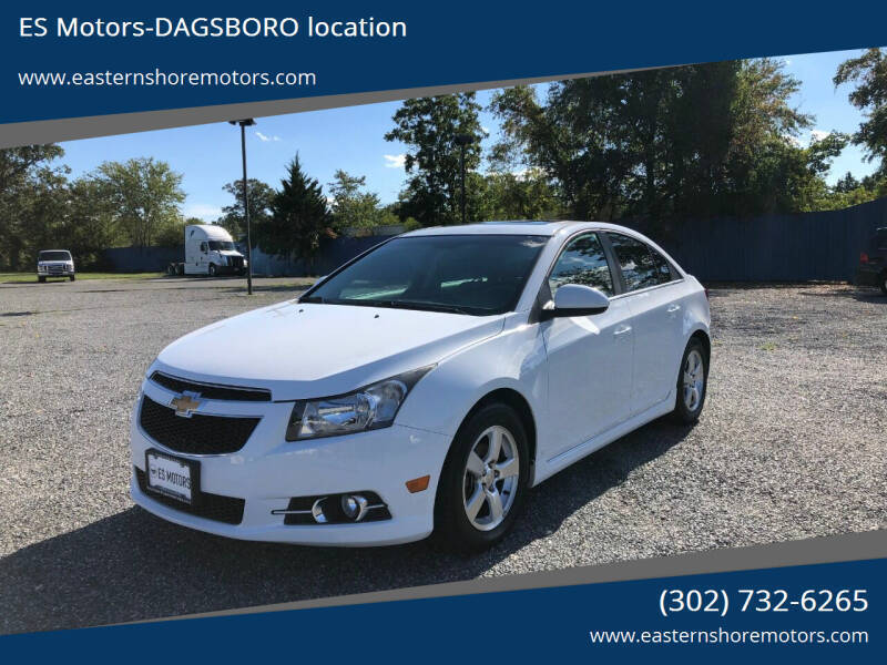 2012 Chevrolet Cruze for sale at ES Motors-DAGSBORO location in Dagsboro DE
