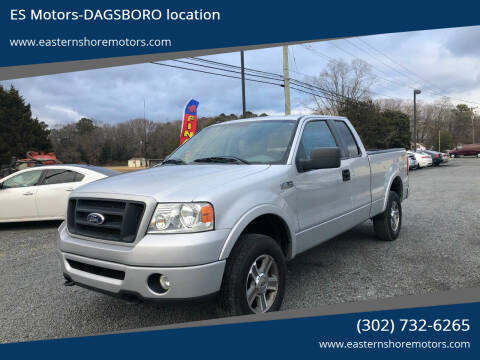 2008 Ford F-150 for sale at ES Motors-DAGSBORO location in Dagsboro DE
