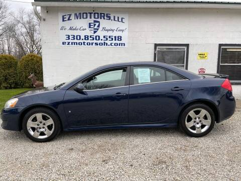 2009 Pontiac G6 for sale at EZ Motors in Deerfield OH