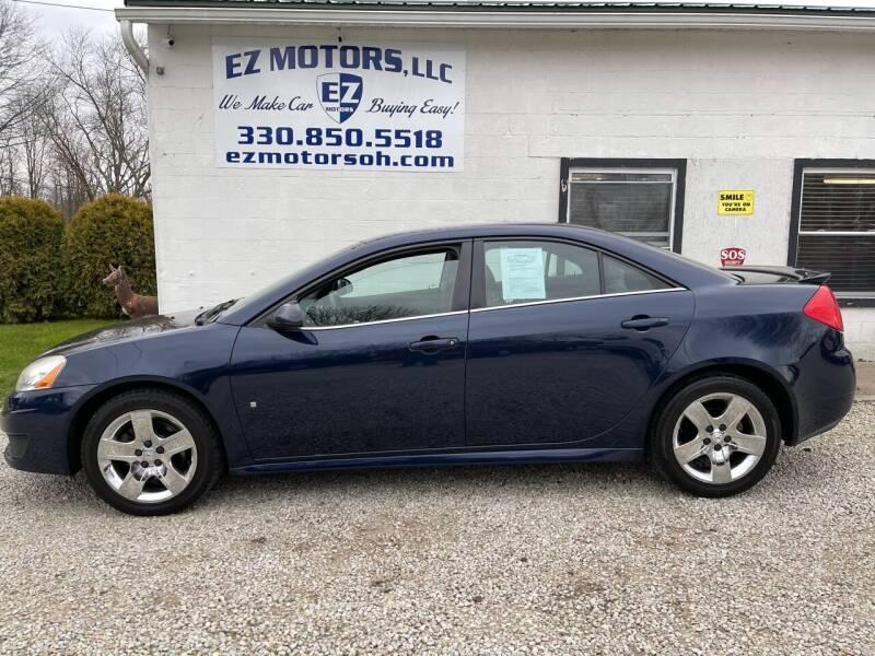 2009 Pontiac G6 for sale at EZ Motors in Deerfield OH