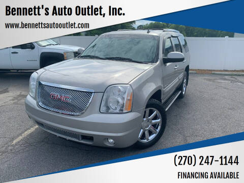 2008 GMC Yukon for sale at Bennett's Auto Outlet, Inc. in Mayfield KY