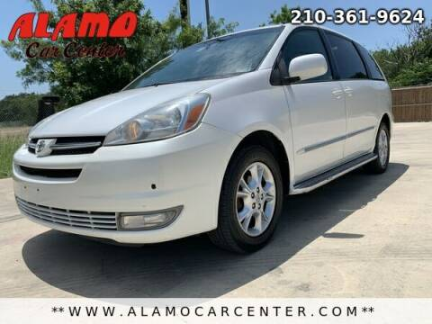 2005 Toyota Sienna for sale at Alamo Car Center in San Antonio TX