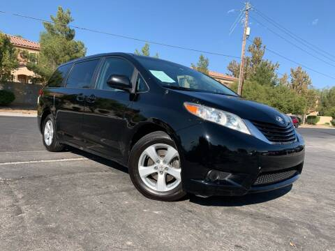 2012 Toyota Sienna for sale at Boktor Motors in Las Vegas NV