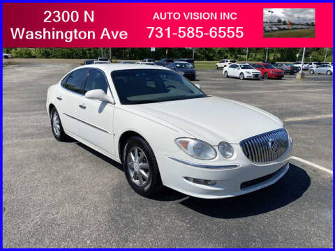 2008 Buick LaCrosse for sale at Auto Vision Inc. in Brownsville TN
