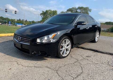2009 Nissan Maxima for sale at InstaCar LLC in Independence MO