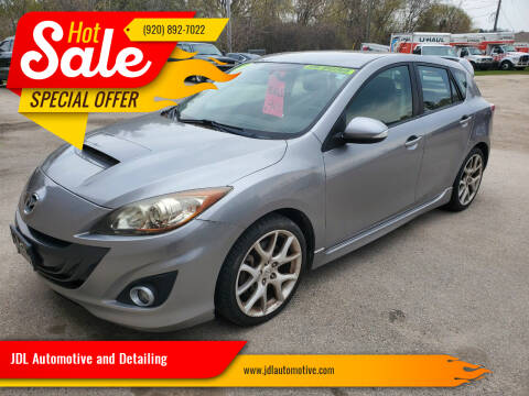 2010 Mazda MAZDASPEED3 for sale at JDL Automotive and Detailing in Plymouth WI