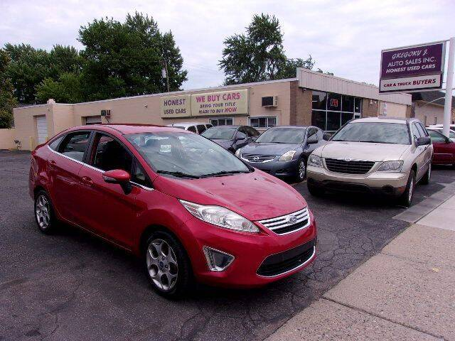 2011 Ford Fiesta for sale at Gregory J Auto Sales in Roseville MI